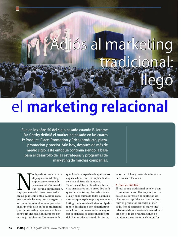 Adios al marketing tradicional