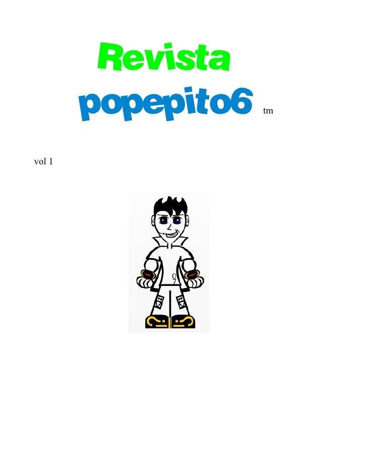 Revista         popepito6   tm     vol 1