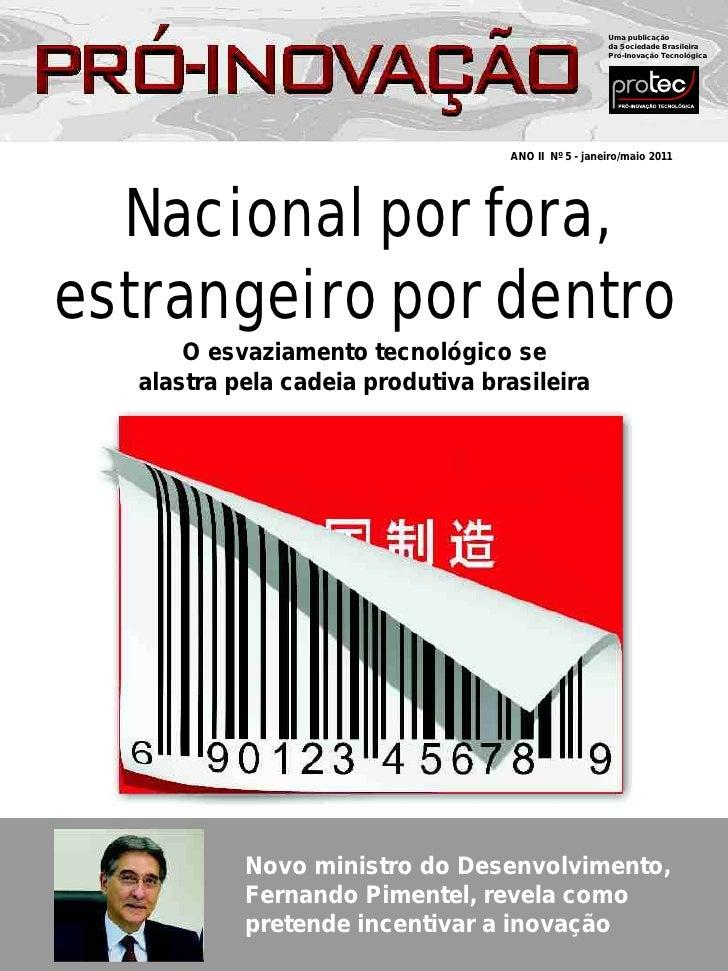 Uma publicação                                                    da Sociedade Brasileira                                 ...