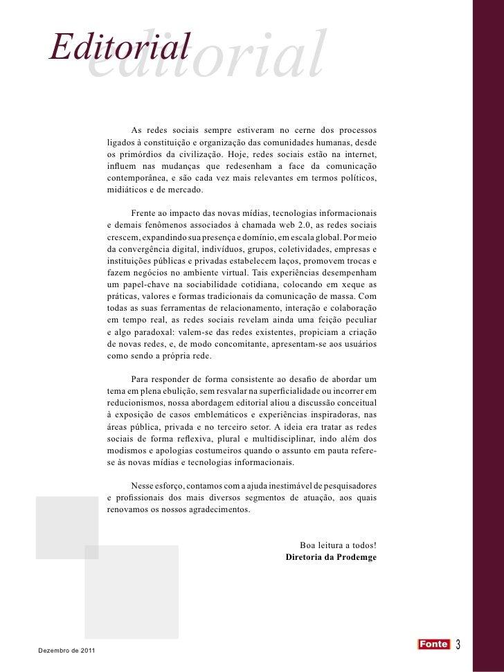 Revista FONTE - Prodemge Slide 3
