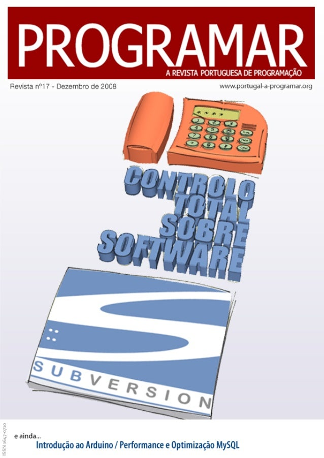 <2> editorial índice 3 4 21 36 39 45 notícias tema de capa - Subversion: Controlo total sobre o software a programar - Per...