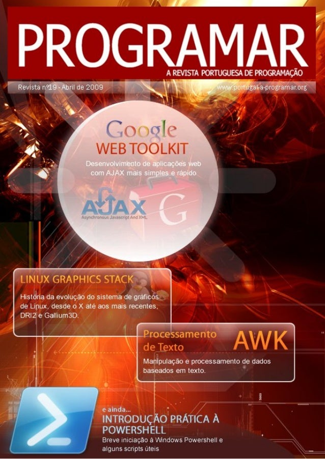 <2> editorial índice 3 4 11 14 20 26 notícias tema de capa - GWT a programar - Processamento de texto em AWK - Microsoft W...