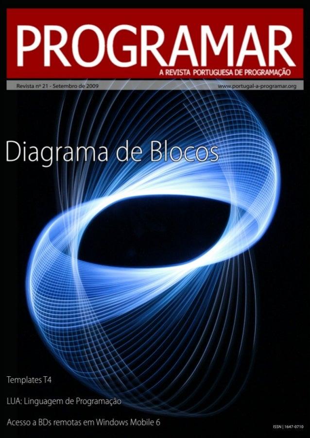 <2> editorial índice 3 4 7 19 24 31 notícias/links snippets tema de capa - Construção de Diagrama de Blocos a programar - ...