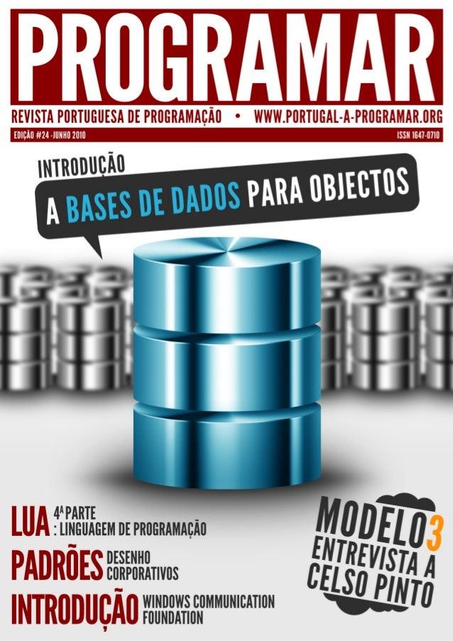 <2> editorial índice 3 4 5 10 12 19 notícias/links a tua página tema de capa - Introdução a Bases de Dados para Objectos a...