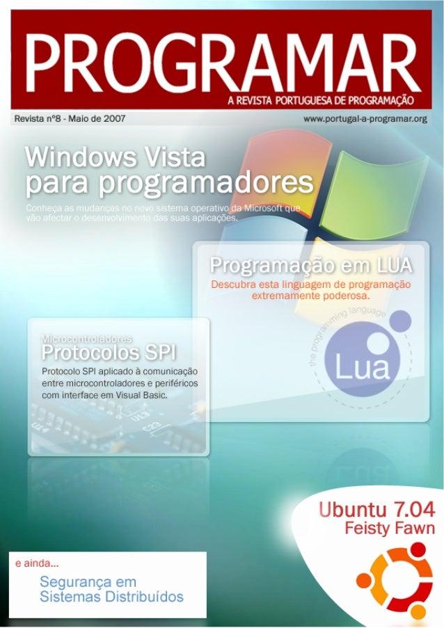 e ditorial <2 > índice 3 notícias 4 te m a de capa 10 a program ar 30 se gurança 34 e le ctrónica 39 tutorial 45 gnu/linux...