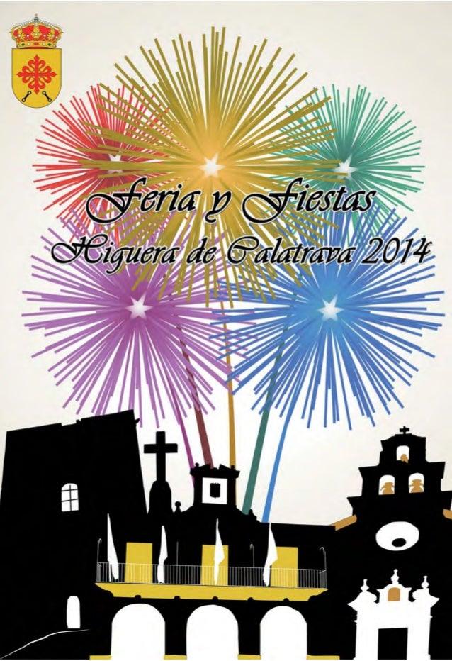 Revista Programa de Feria y Fiestas Higuera de Calatrava 2014