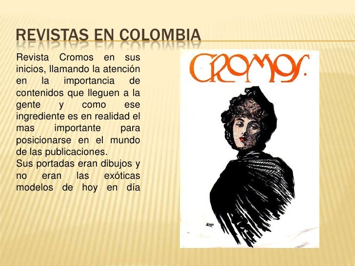 Revista cromos historia