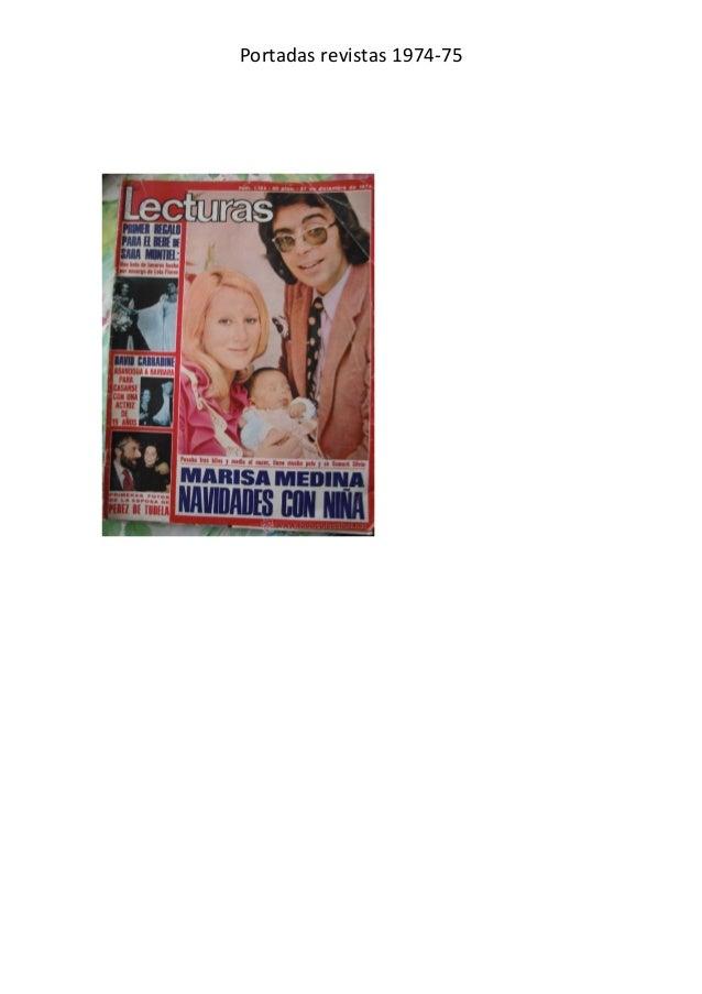 Portadas revistas 1974-75