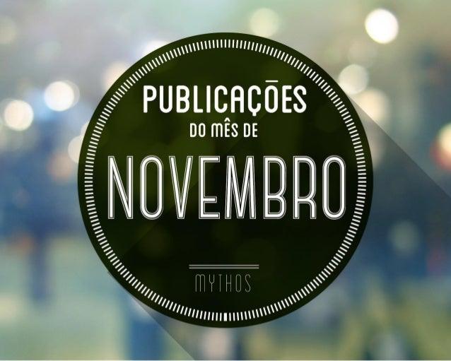 Covers - Magazines - CAPAS das Revistas de Nov 2013