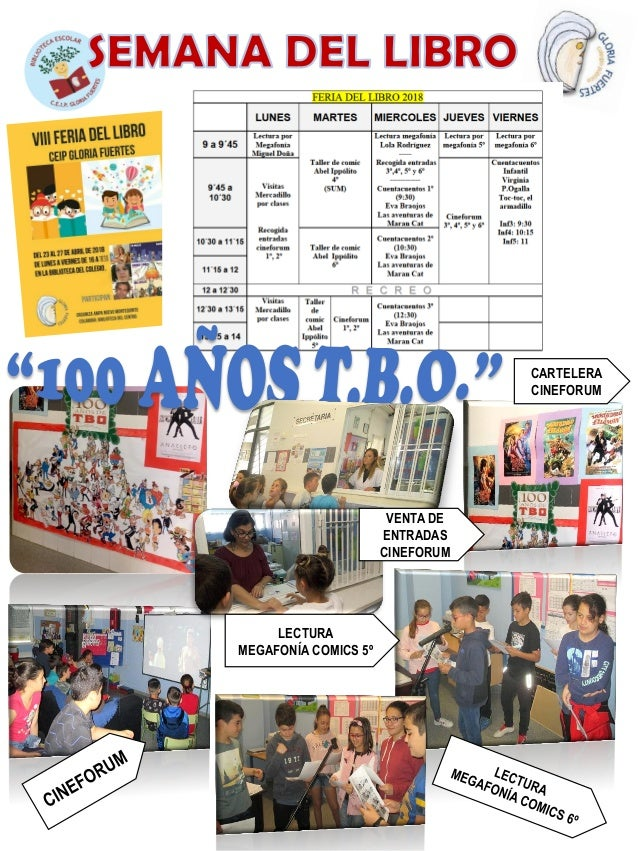 CARTELERA CINEFORUM VENTA DE ENTRADAS CINEFORUM LECTURA MEGAFONÍA COMICS 5º
