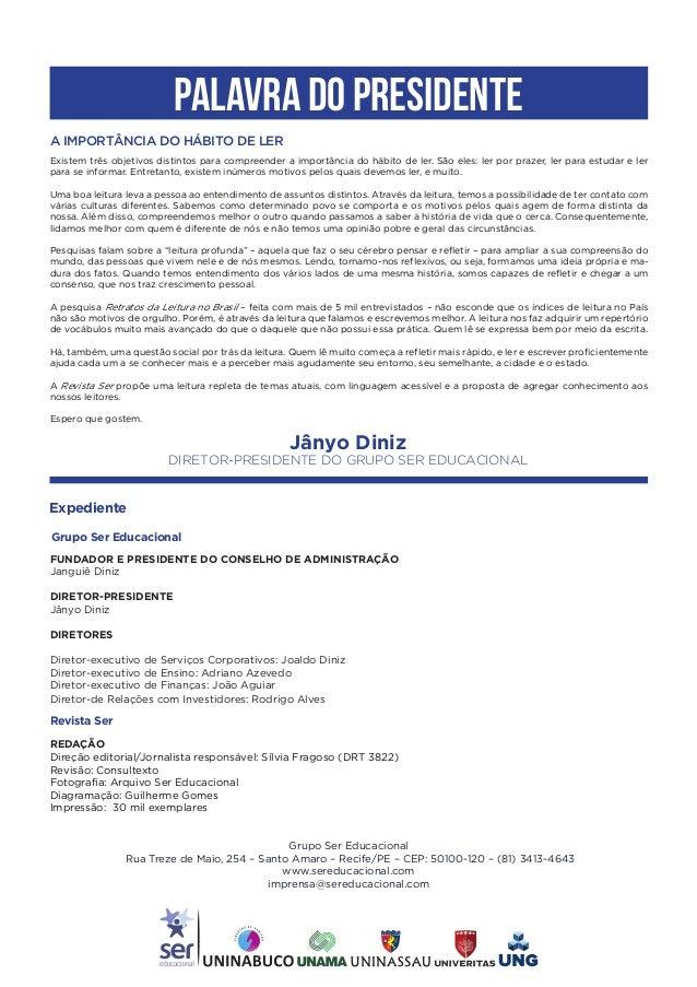 Revista Ser Educacional - No. 2 - dezembro 2017 Slide 3