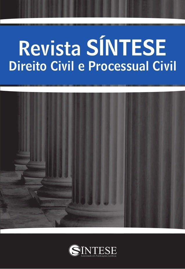 Revista SÍNTESE Direito Civil e Processual Civil