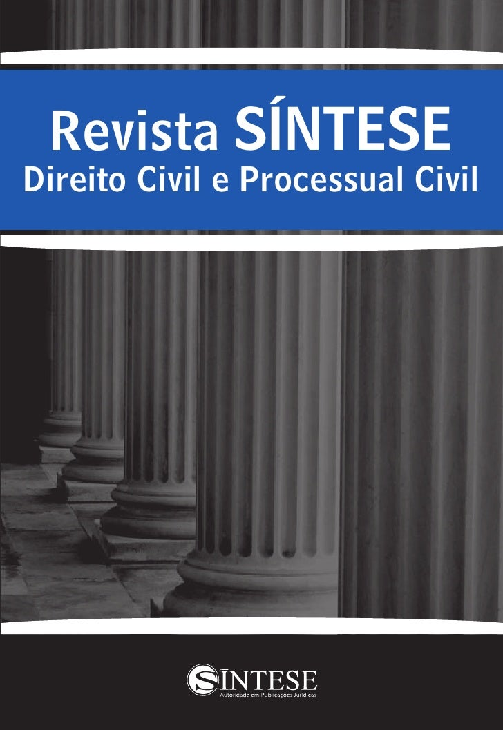 Revista SÍNTESEDireito Civil e Processual Civil
