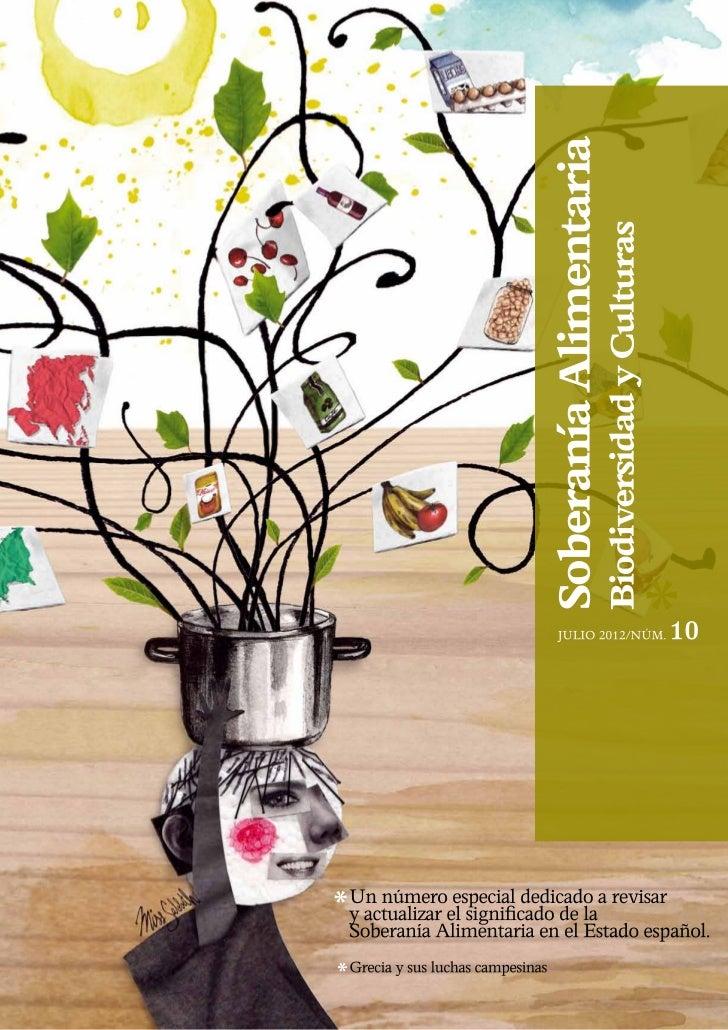 Soberanía Alimentaria, Biodiversidad y                                                                                    ...