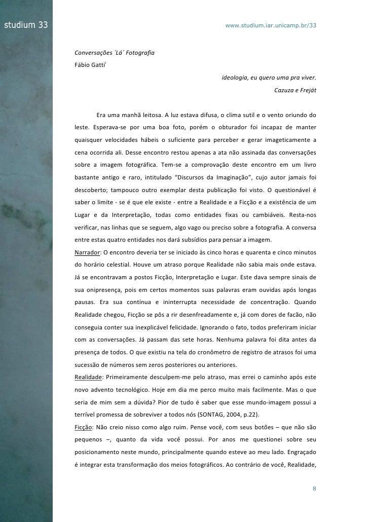 www.studium.iar.unicamp.br/33Conversações ´Lá´ FotografiaFábio Gattii                                                     ...
