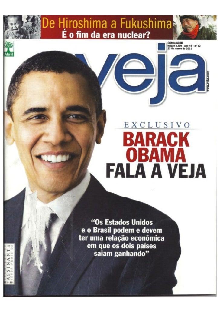 Revista Veja - 23/03/11