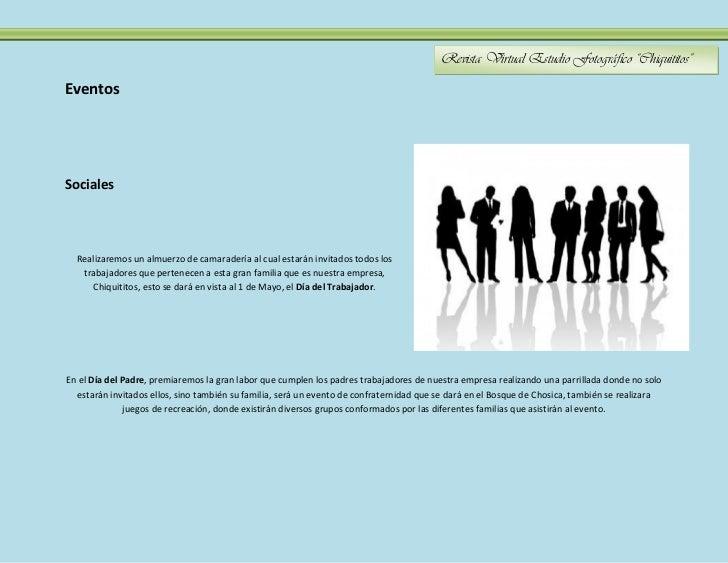 """Revista Virtual Estudio Fotográfico """"Chiquititos""""EventosSociales  Realizaremos un almuerzo de camaradería al cual estarán ..."""