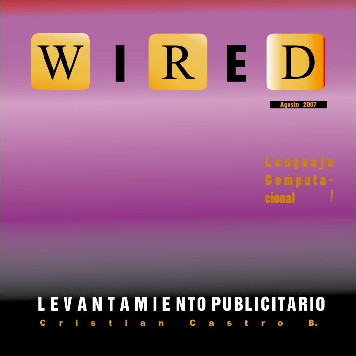 WIRED                                                      Agosto 2007                                                    ...