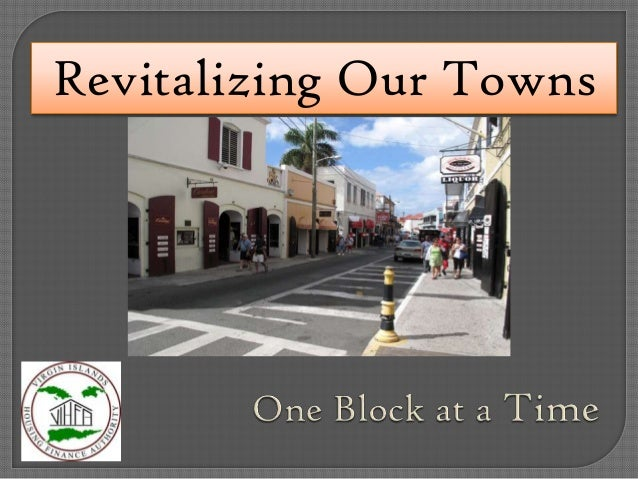 Revitalizing Our Towns