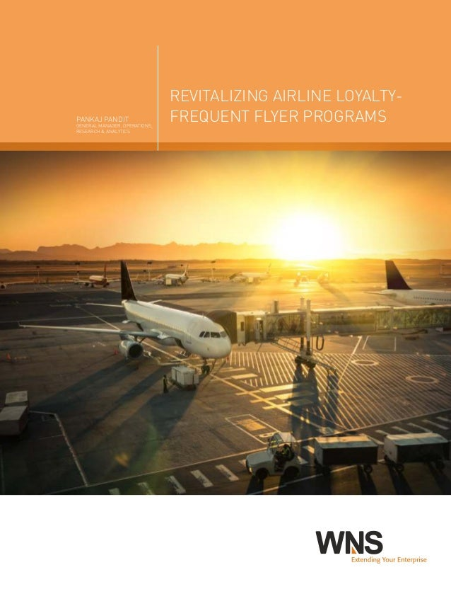 accounting for airline frequent flyer programs Introductionfrequent flyer loyalty programs are a valuable marketing tool for airlines, however accounting for frequent flyer points (ffps) is not a s.
