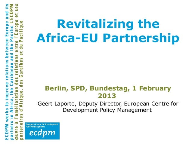 Revitalizing the Africa-EU Partnership