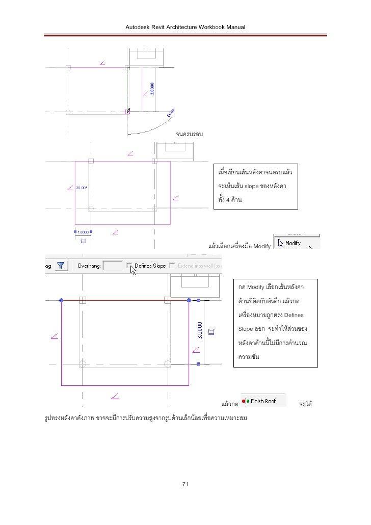 Autodesk Revit Architecture Workbook Manual                                               จนครบรอบ                        ...