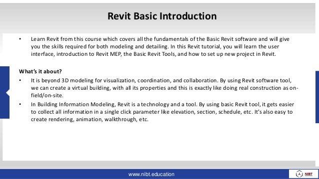 Essential Autodesk Revit Architecture Courses