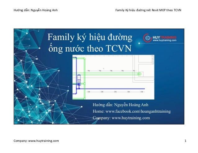 Revit] Family ký hiệu đường ống nước