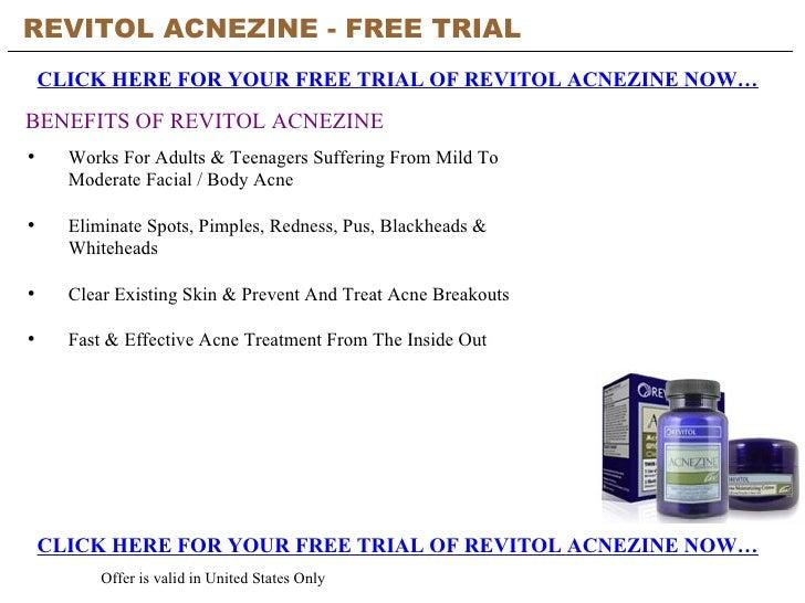 Revitol Acnezine Free Trial