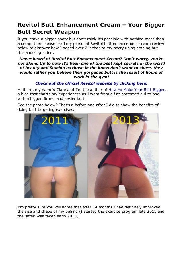 Revitol Buttck Enhancement Cream Review