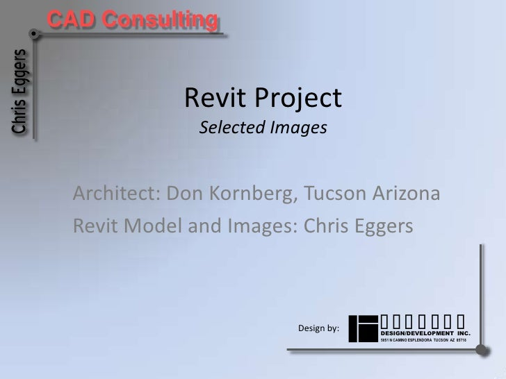Architectural/MEP Projects<br />The following two projects are representative of the utilization of established 2D draftin...