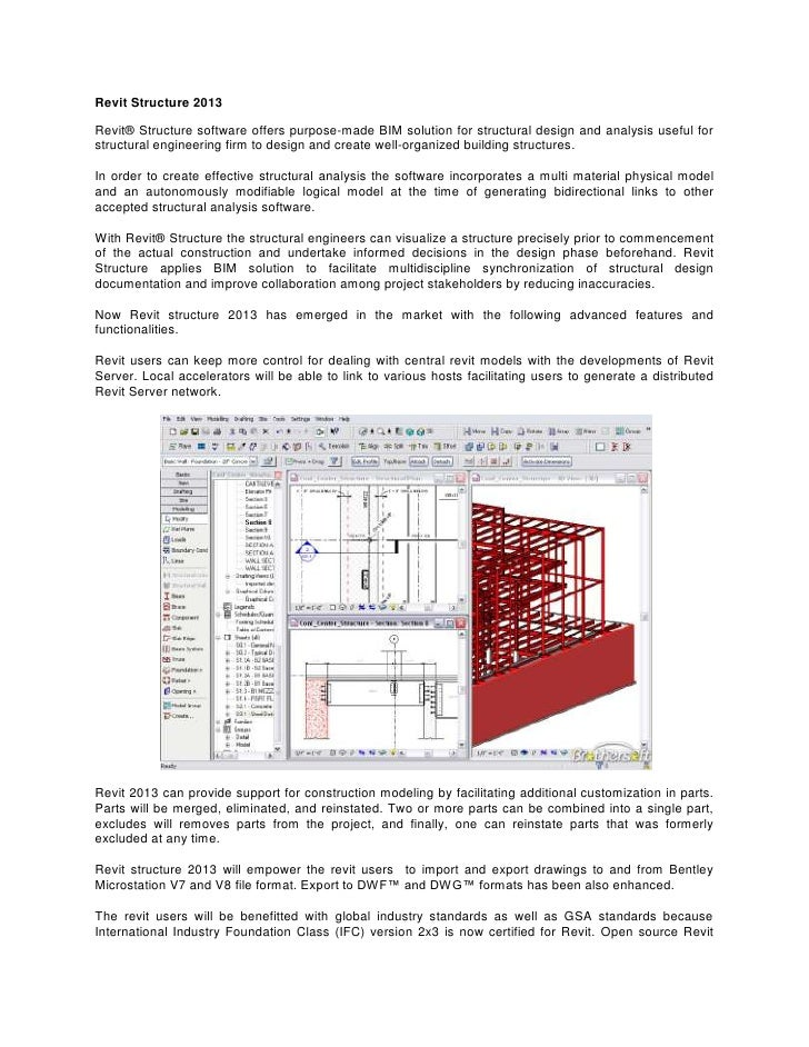 Autodesk launch Revit Structure 2013 to make more improved