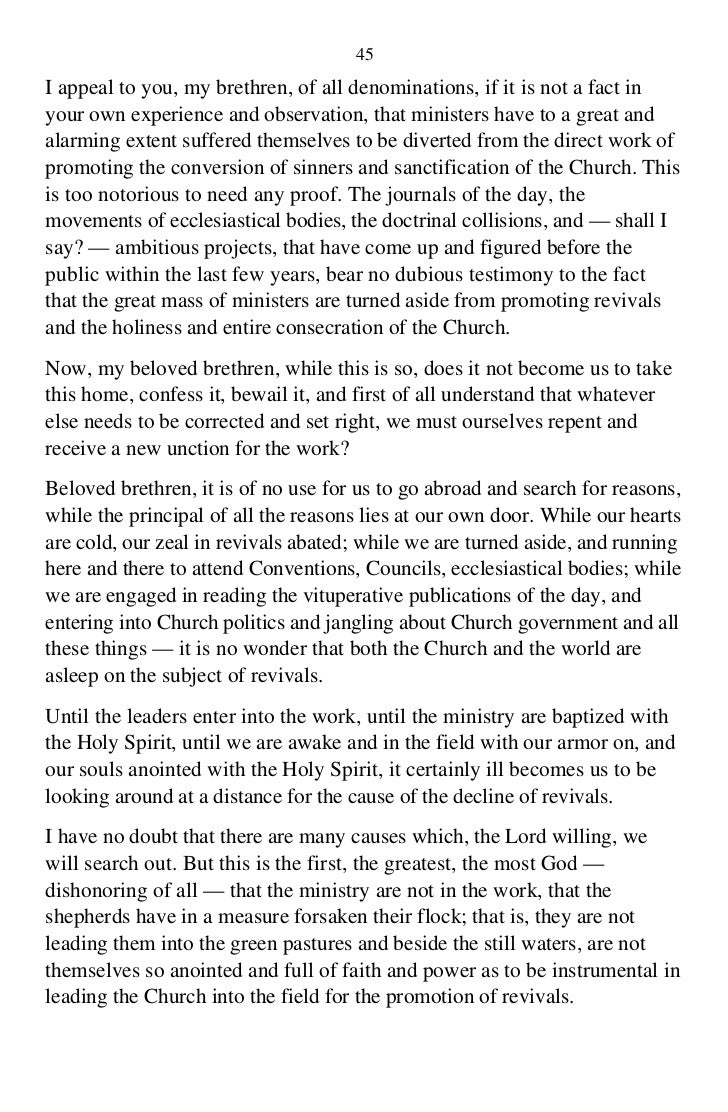 Obstruction is what Obligation of the Holy Spirit