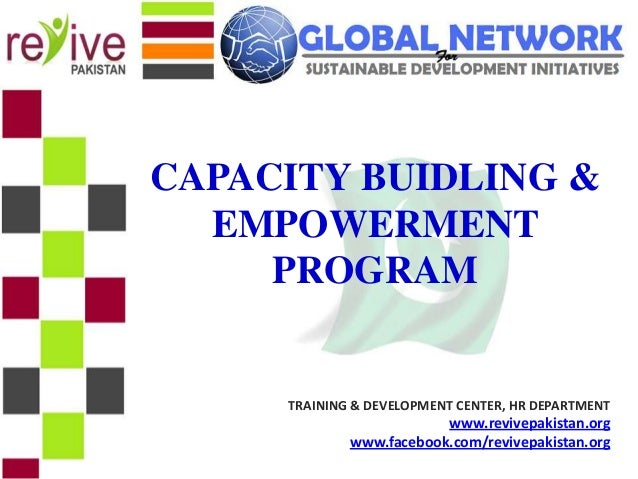 Which organization deals with capacity building programme