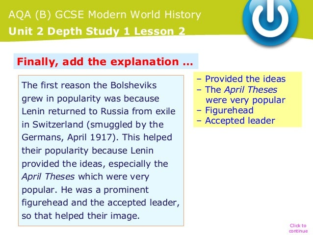 april theses explained Get an answer for 'explain lenin's april theses in short points lenin was in russian revolution' and find homework help for other history questions at enotes.