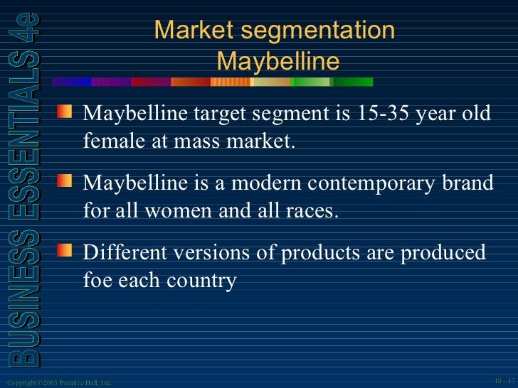 maybelline marketing
