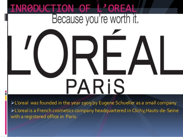 l oreal s mission statement At l'oreal, we believe that finance business and industry small business and entrepreneurship business plans mission statements what is l'oreal vision.