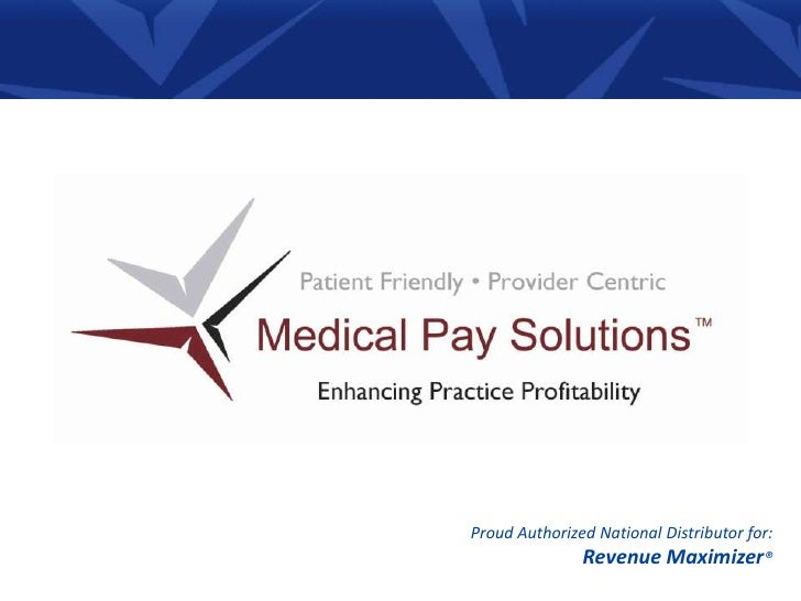 Proud Authorized National Distributor for:<br />Revenue Maximizer® <br />