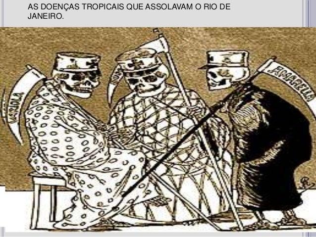 AS DOENÇAS TROPICAIS QUE ASSOLAVAM O RIO DEJANEIRO.               Grupo 1