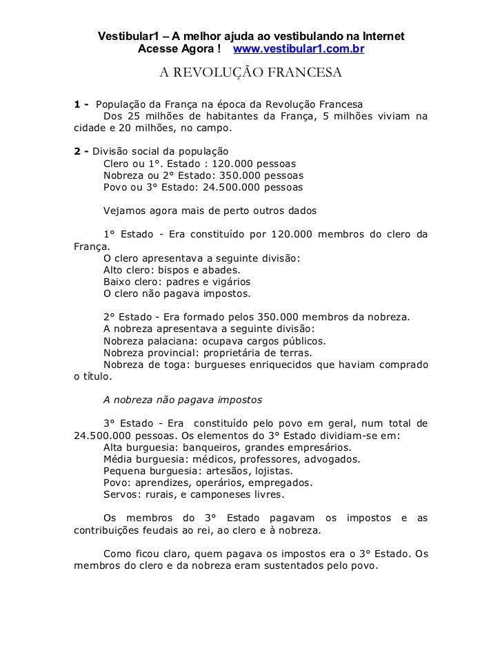 Vestibular1 – A melhor ajuda ao vestibulando na Internet           Acesse Agora ! www.vestibular1.com.br                A ...
