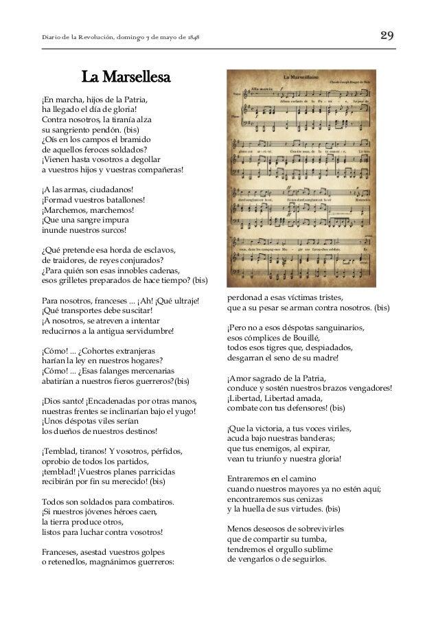 Letra De La Marsellesa Francesa