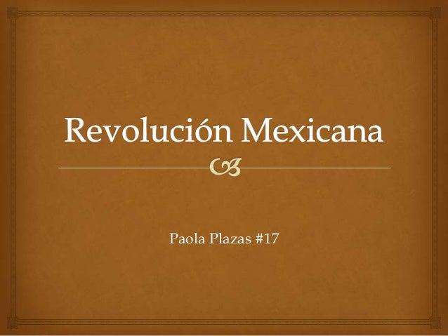 Paola Plazas #17