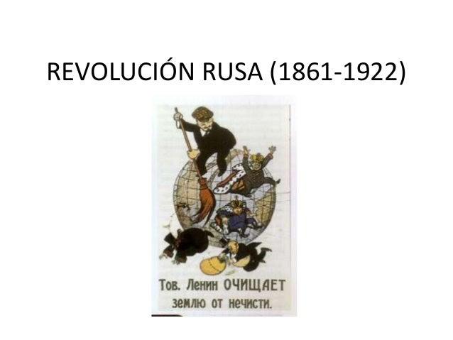 REVOLUCIÓN RUSA (1861-1922)