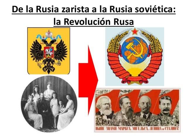 De la Rusia zarista a la Rusia soviética: la Revolución Rusa