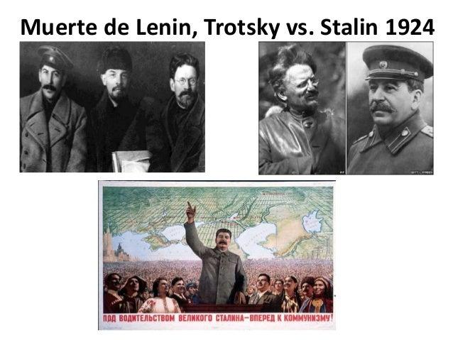 Muerte de Lenin, Trotsky vs. Stalin 1924
