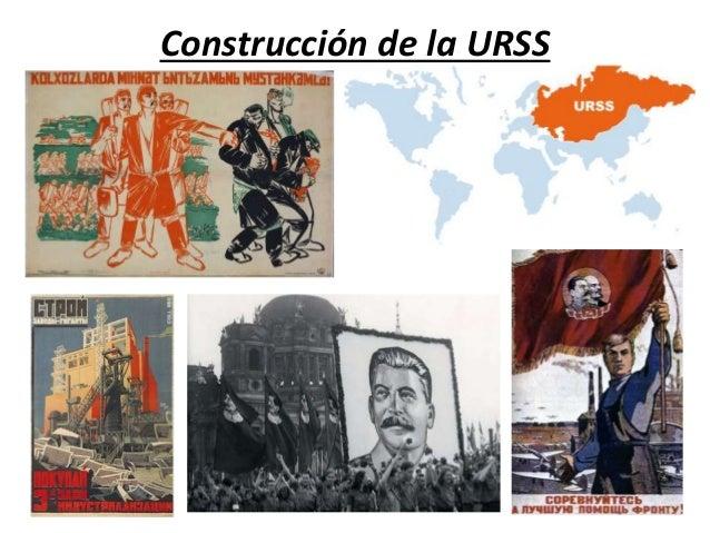 Construcción de la URSS