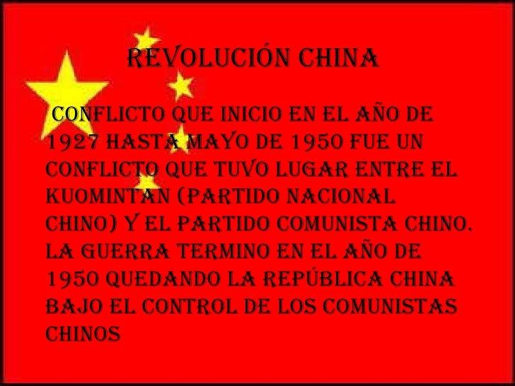 Revolucion China Slide 2