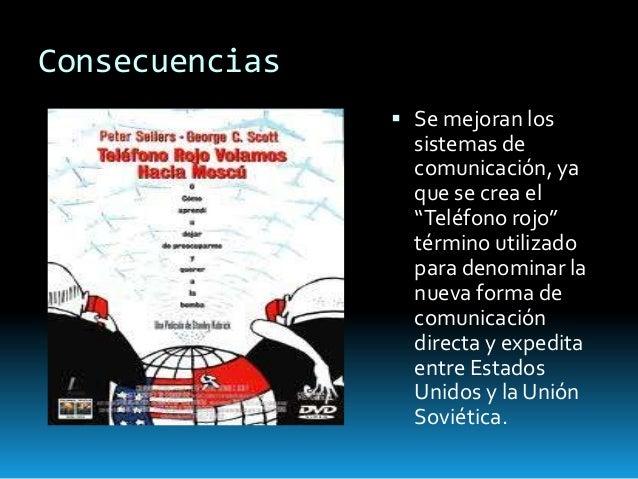 Resultado de imagen de TELÉFONO ROJO CRISIS CUBA