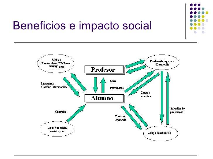 Beneficios e impacto social