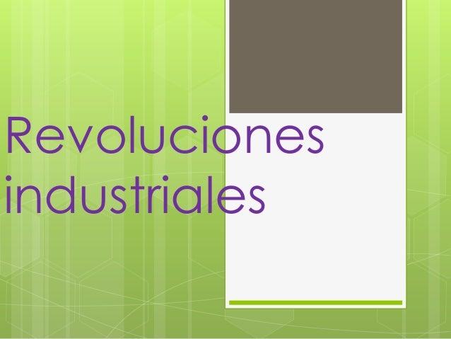 Revolucionesindustriales